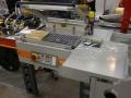 термоусодочная машина в полурукавную ПВХ термоусадочную пленку