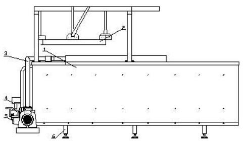 Ванна тепловой обработки марки Э-311К