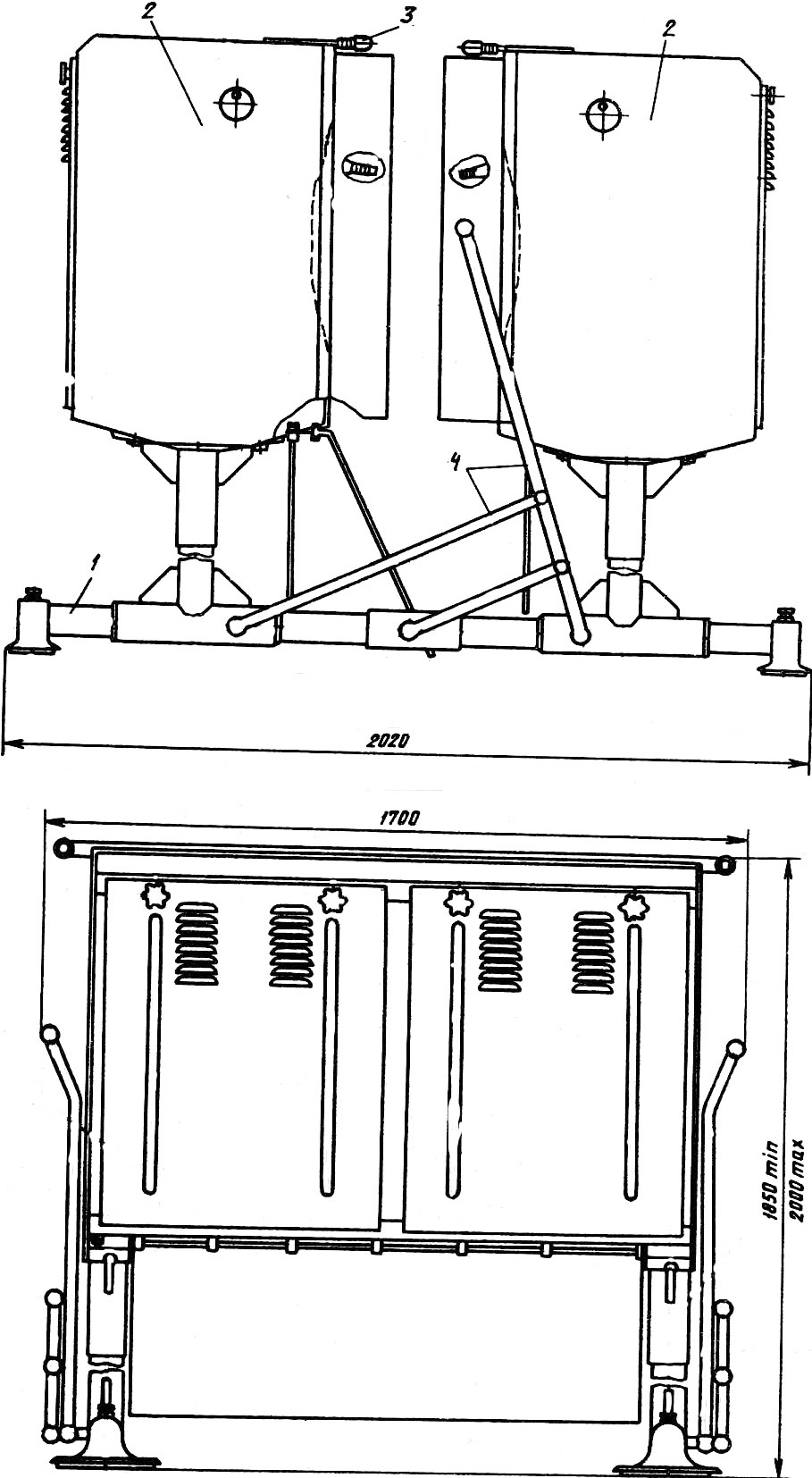 Машина удаления оперения марки ПЯ6-ФУО