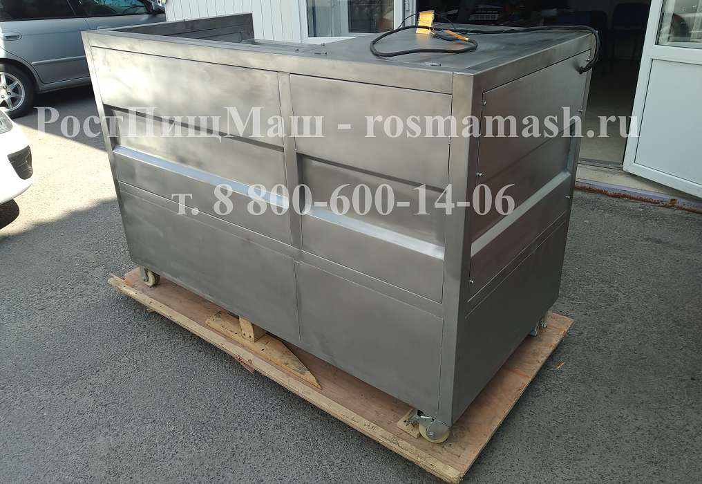 Машина для полировки и мойки корнеплодов GB-1000