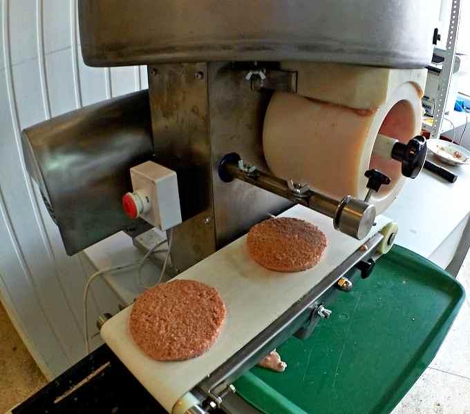 Готовое изделие на Автомате гамбургеров ИПКС-123Гм