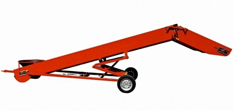Транспортер-конвейер ленточный наклонный S-850