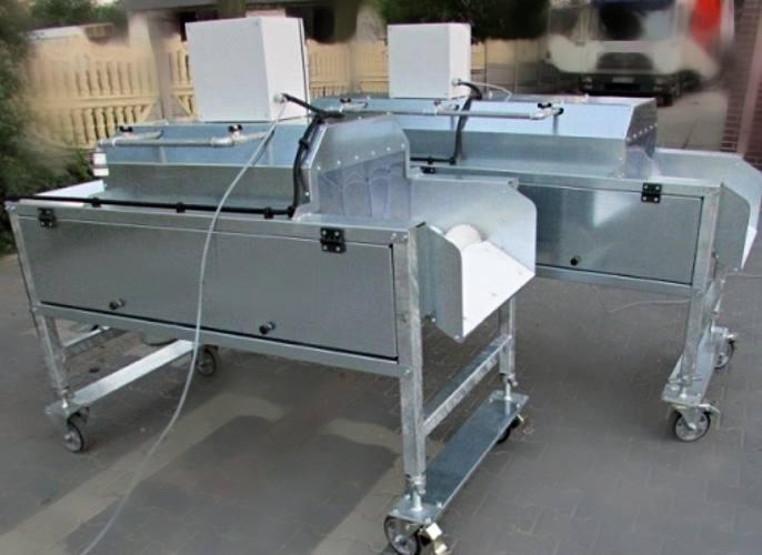 Машина щеточная для очистки овощей SPM