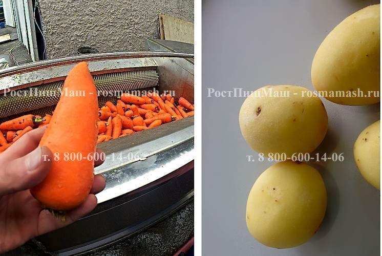 Машина очистки картофеля и моркови от кожуры GB