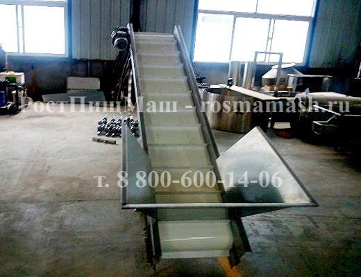 Подъёмная машина (транспортер наклонный) GB-2500