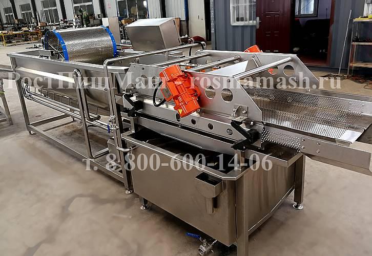 Вихретоковая моечная машина листьев салата GB-4500