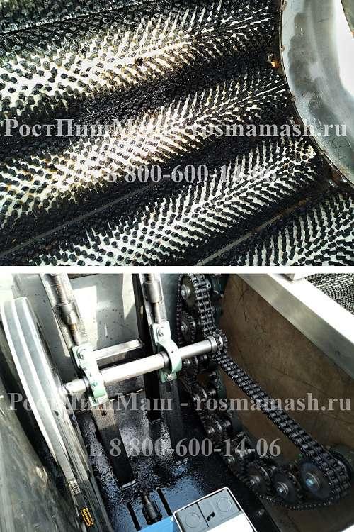 Щетки Машины мойки  корнеплодов РПМ-МЧ-1000