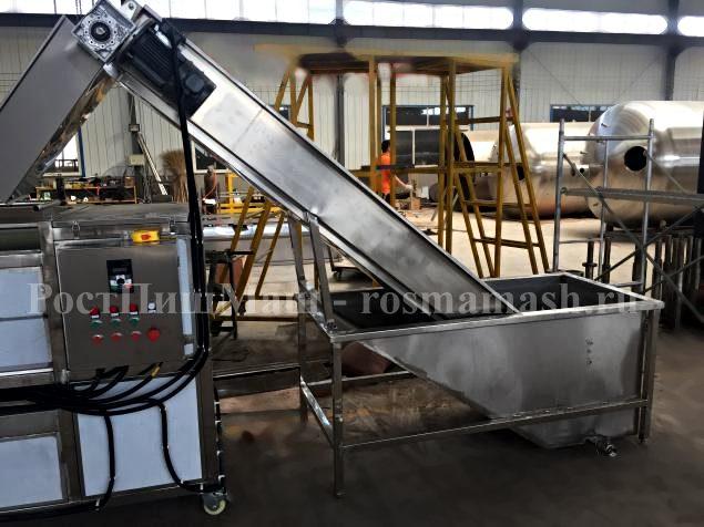 ранспортер с ванной для предварительного замачивания (камне-удаления) модели Gb-2600