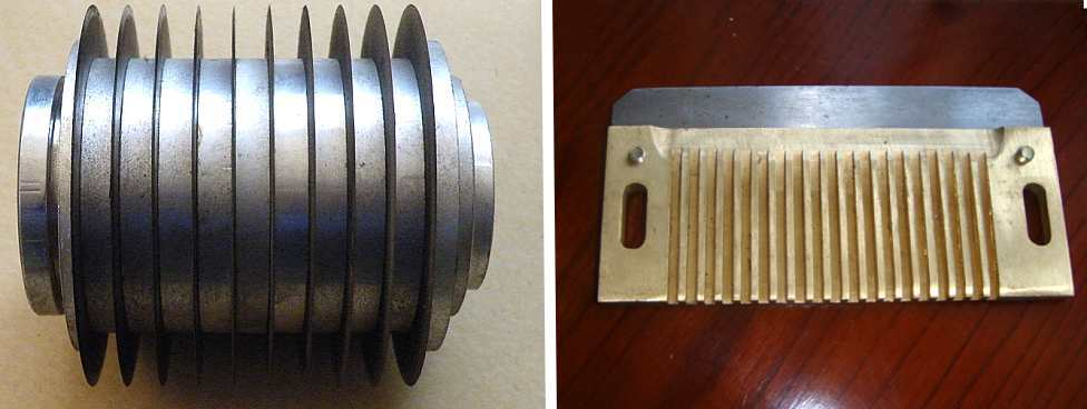 Ножи для Машина резки овощей кубиками  CHD-100