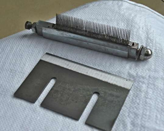 Ножи на Машину для нарезки соломки  SH-100