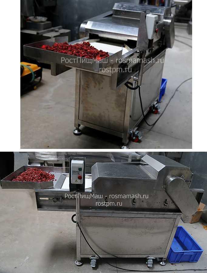Машина для резки сушеных фруктов на кубики DY-801