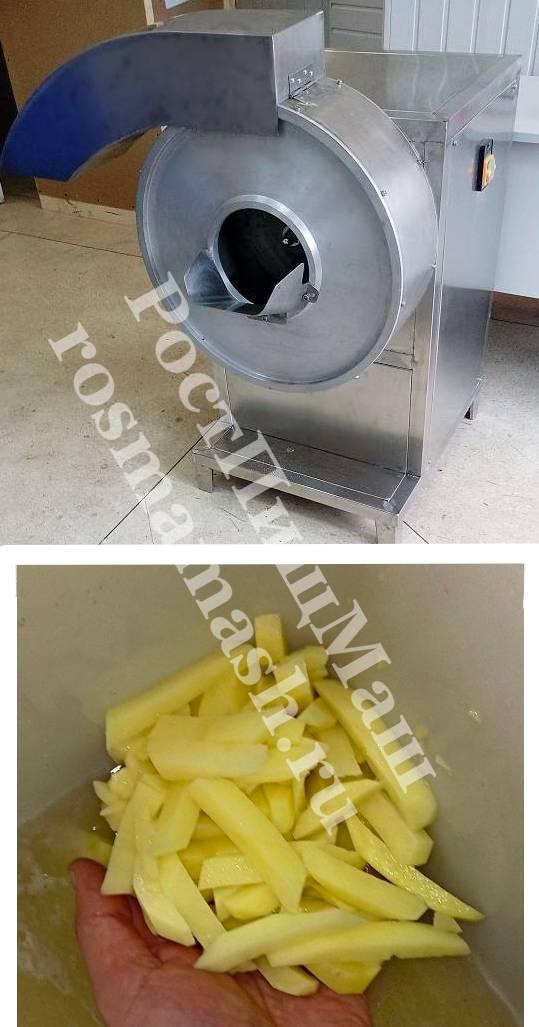 Машина нарезки картофеля фри GB-600