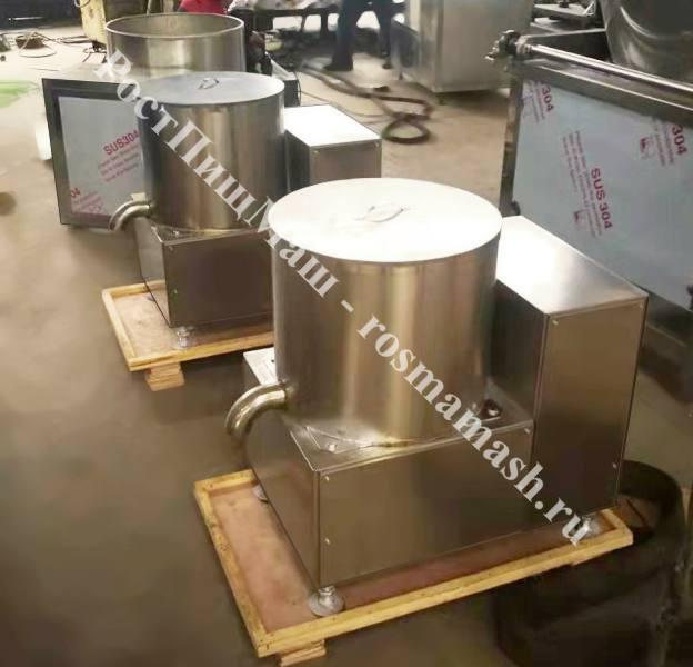 Машина водоотделитель-дегидратор для обезвоживания овощей GB-TS