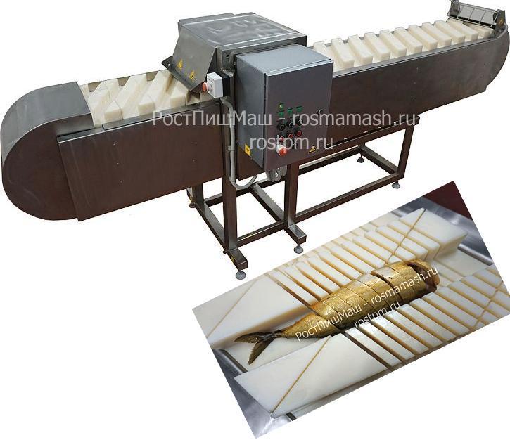 Машина нарезки мяса, рыбы, овощей ИПКС-074-01-200МЧ(Н)