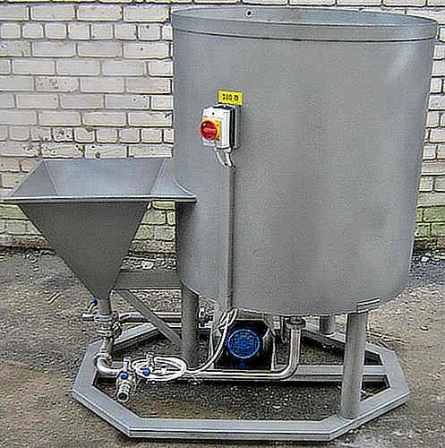 Установка для приготовления рассолов и маринадов