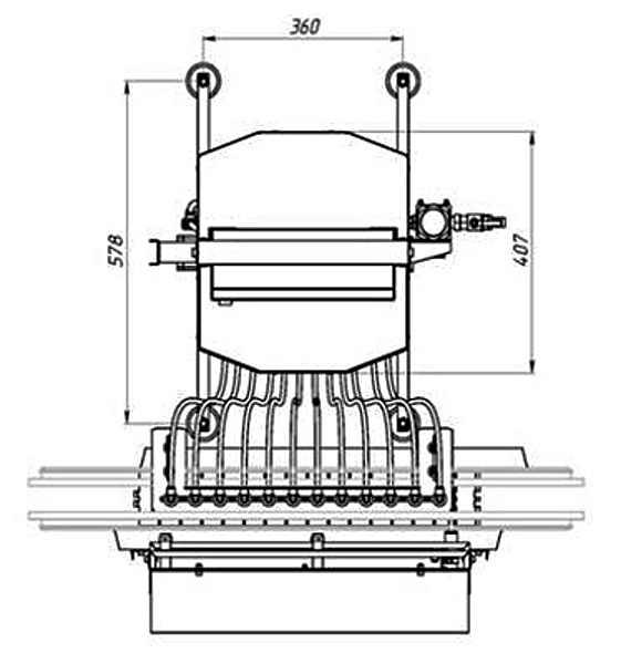 Автомат розлива жидких-густых масс АРп-1800-МГ