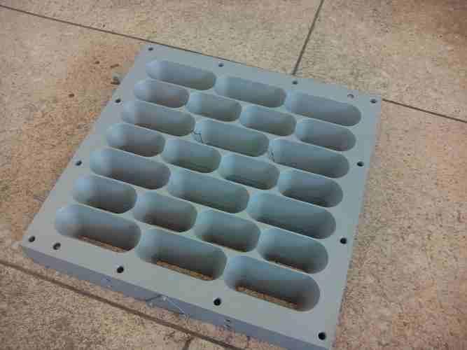 Обработка тефлоном жарочных поверхностей и решеток