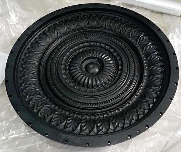 Нанесение тефлонового покрытия на формы для потолочных изделий