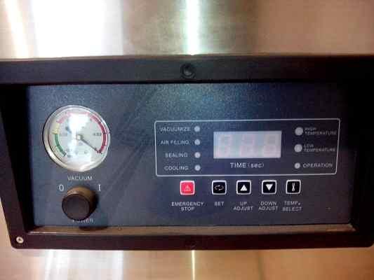 Панель управления на Вакуумной упаковочной машине DZQ-500/T