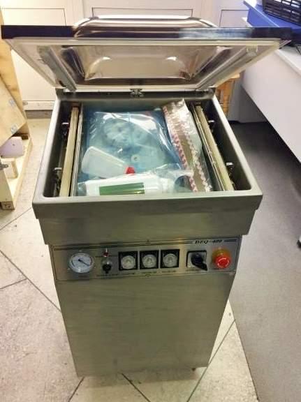 Напольная вакуум-упаковочная машина DZQ-400/2E