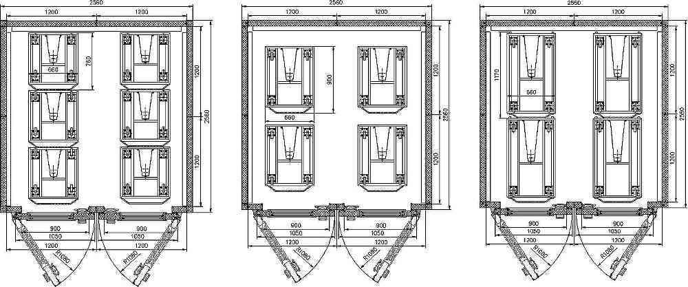 Схема Шкафа расстойного
