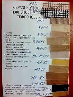 Самоклеющийся тефлон-латоткань
