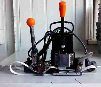 Ручное устройство для обвязки (спайки) стрепп-лентой KZ-2