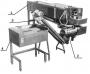 Комплект оборудования для обработки мышечных желудков птицы