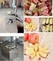 Машина нарезки дольками яблок-картофеля SM (удаление сердцевины)